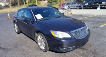 Chrysler 200 2012 Blue